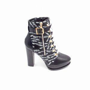 Shoedazzle Uptown Hiker Boots Size 7.5
